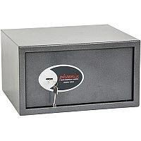 Phoenix Vela Home & Office SS0803K Size 3 Security Safe with Key Lock Metalic Graphite 34L