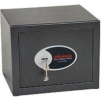 Phoenix Lynx SS1171K Size 1 Security Safe with Key Lock Metalic Graphite 11L