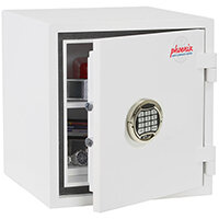 Phoenix Citadel SS1192E Size 2 Fire & S2 Security Safe with Electronic Lock White 31L 30mins Fire Protection