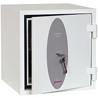 Phoenix Citadel SS1192K Size 2 Fire & S2 Security Safe with Key Lock White 31L 30mins Fire Protection