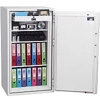 Phoenix Fire Fox SS1623E Size 3 Fire & S1 Security Safe with Electronic Lock White 315L 120min Fire Protection