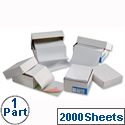 1 Part Listing Paper Ruled 368mm 60gsm 2000 Sheets Challenge
