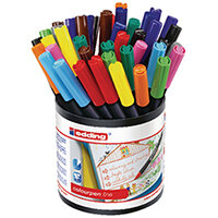 Edding Colourpen Fine Assorted Pack of 42 1405000
