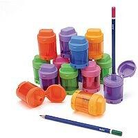 Pencil Sharpener 1-hole Cannister Pack 12