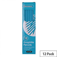 Classmaster Classroom Graphite HB Pencils Pack 12