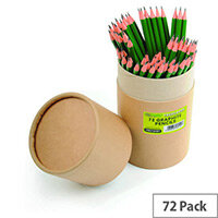 Re:Create Treesaver Recycled HB Pencils Pack of 72 TREE72HBT
