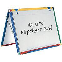 Show-me Flipchart Pad A2 Plain Pack of 5 FPPA2/5
