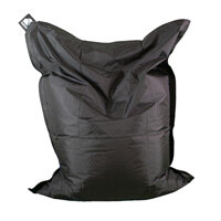 Elephant  Junior Indoor & Outdoor Use Kids Size Bean Bag 1400x1100mm Urban Black