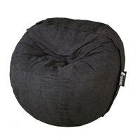 Elephant Kumo Round Bean Bag H800xD1000mm Urban Black