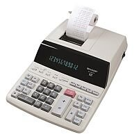 Sharp EL-2607P 2-Colour Printing Calculator Mains Powered