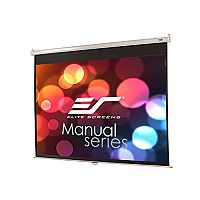"Elite Manual Pull Down - 100 "" Size (203cm x 152cm) - 4:3 Ratio - 180° Wide Viewing Angle - 4K Ultra HD, Active 3D Ready"