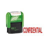 Colop Green Line Word Stamp CONFIDENTIAL GLP20CONF