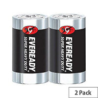 Eveready Batteries Silver D Pack 2 R20B2UP