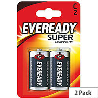 Eveready Batteries Silver C Pack 2 R14B2UP