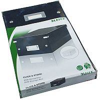 Leitz Click & Store DVD Storage Box Black Ref: 60420095