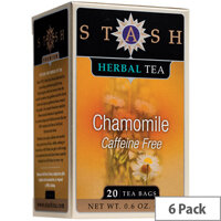 Stash Camomile Speciality Teas 20 Bags Pack of 6