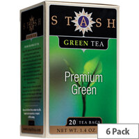 Stash Premium Green Speciality Teas 20 Bags Pack of 6
