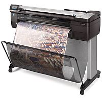 "HP DesignJet T830 - 24"" Large Format - Multifunction Printer - Colour - Ink-Jet - Gigabit LAN - Wi-Fi"