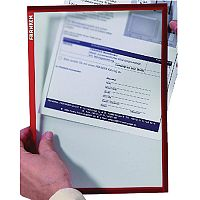 Franken Document Holder A4 Red Pack of 5 ITSA4M 01