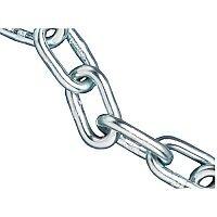 Faithfull 160kg Load Zinc Plated Chain 5.0mm