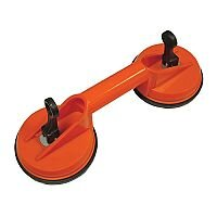 Double Cup Suction Raised Floor Panel Lifter 120mm Cups