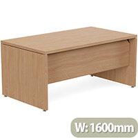 Fermo Executive Office Desk W1600mm Beech