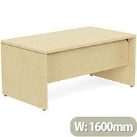 Fermo Executive Office Desk W1600mm Maple