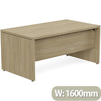 Fermo Executive Office Desk W1600mm Urban Oak