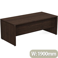 Fermo Executive Office Desk W1900mm Dark Walnut