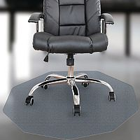 Cleartex Polycarbonate 9 Chair Mat For Hard Floor FL12100