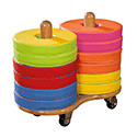 Donut Trolley Including 12 Cushions
