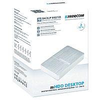 Freecom Mhdd 2TB Silver Desktop Drive USB 3.0 56386