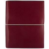 Filofax Domino Organiser A5 Red with Elasticated Closure 27872