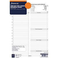 Filofax 2021 A4 Diary Refill Day Per Page 21-68719