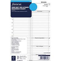 Filofax 2021 A5 Diary Refill Day Per Page 21-68519