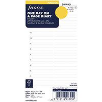 Filofax Personal 2021 Diary Refill Day Per Page 21-68441