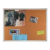 Franken Cork Pin Board PRO Aluminium Frame 1200 x 900mm KT8403