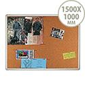 Franken Cork Pin Board PRO Aluminium Frame 1500 x 1000mm KT8409