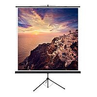 Franken Tripod Projection Screen ValueLine W:2200xH:2200mm Format 1:1 LWST222