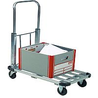 GPC Aluminium 150kg Capacity Lightweight Folding Platform Trolley GI001Y