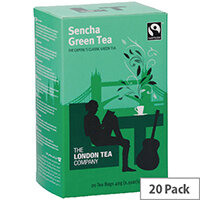 London Tea Sencha Green Tea Pack of 20 FLT0000
