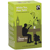 London Tea Pear Tatin White Tea Pack of 20 FLT19154