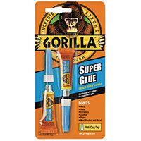 Gorilla Super Glue 3g Pack of 2 4044101