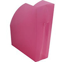 Linicolor Magazine Rack Raspberry 18085D