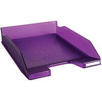 Iderama Letter Tray Purple 11319D