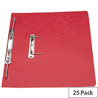 Europa Red Spiral File A4 Pack of 25