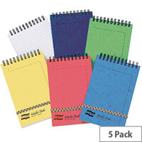 Europa 152x102mm Assorted Midi Notepads Pack of 10 4937