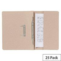 Guildhall Pocket Spiral File Buff 347-Bufz Pk25