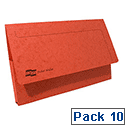 Europa Pocket Wallet Foolscap Red 5258Z