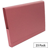 Guildhall Pink Pocket Legal Wallet Pack of 25